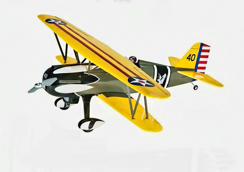 Video: Great Planes P-6E Hawk ARF