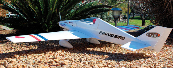 Great Planes Proud Bird EF1 Racer Sport ARF