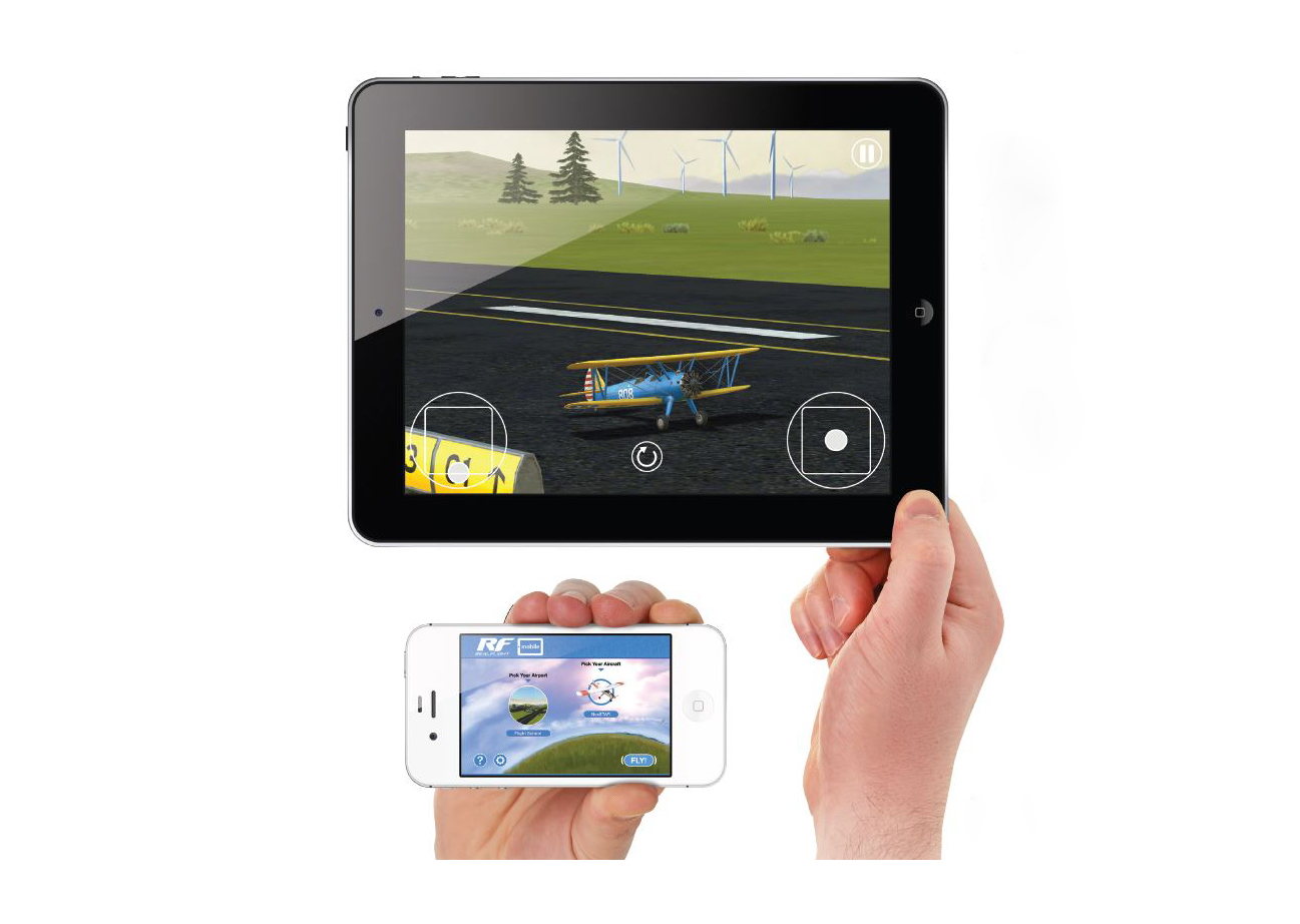 RealFlight Mobile App for iOS and Android Devices