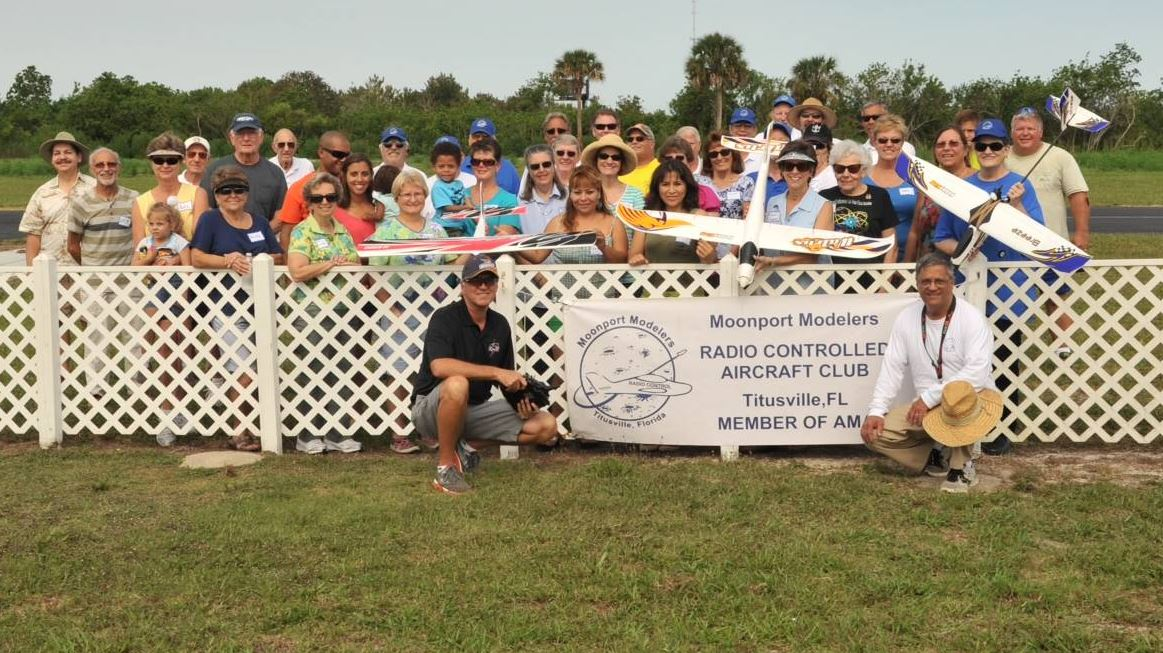 RC Club in Titusville, Florida Hosts a One-of-a-Kind Ladies Flying Clinic
