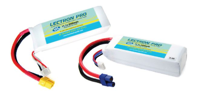 Common Sense RC Lectron Pro Upgrade Batteries for Blade 200 SR X, Blade 350 QX, and DJI Phantom