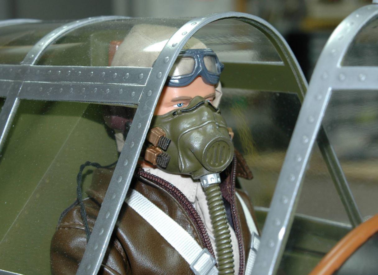 Frank Tiano Enterprises (FTE) Dogfighter Pilot Figure
