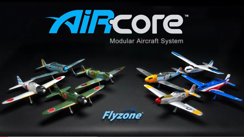 Video: Fly RC the Easy Way with the AirCore Modular Aircraft System