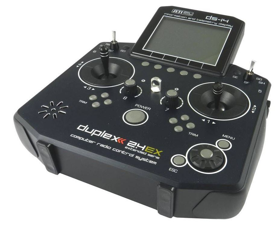 Esprit Model Jeti Duplex DS-14 Basic 2.4GHz w/Telemetry Transmitter