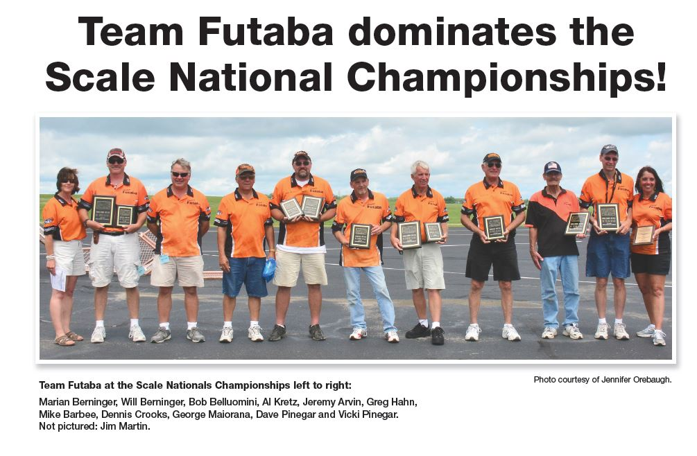 Team Futaba WOW'S at Nats!