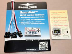 Review: Eagle Tree Systems Guardian 2D/3D Stabilizer