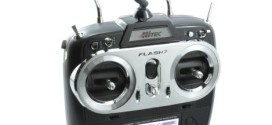 Hitec Flash 7 Seven Channel AFHSS/SLT 2.4GHz Transmitter