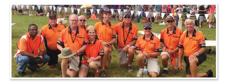 Team Futaba presents R/C Aviation at its Best at the 2014 AirVenture