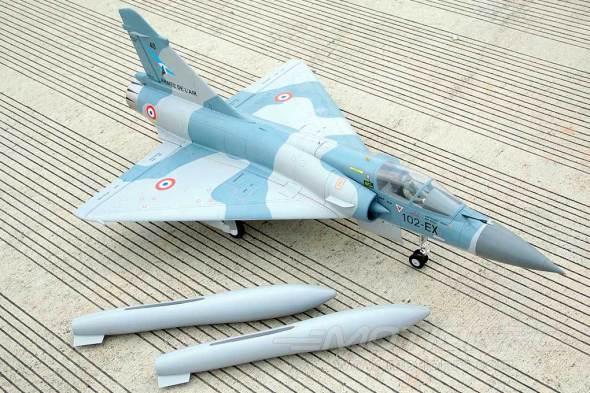 Freewing Mirage 2000C-5 80mm EDF Jet_07