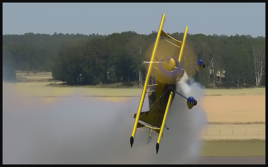 "4K Video: Watch Jacob Holländer in his MODEL 12-S ""VIKING"" SE-XZA Biplane"