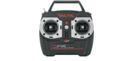 Tactic TTX410 Four Channel SLT Compatible Radio System