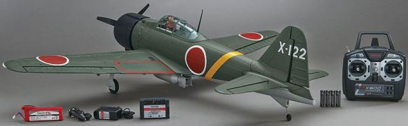 Flyzone Zero Select Scale RTF