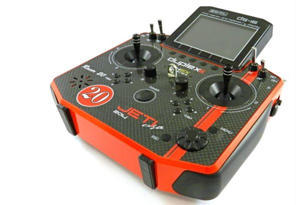 Jeti Duplex DS-16 Red Racer Carbon 2