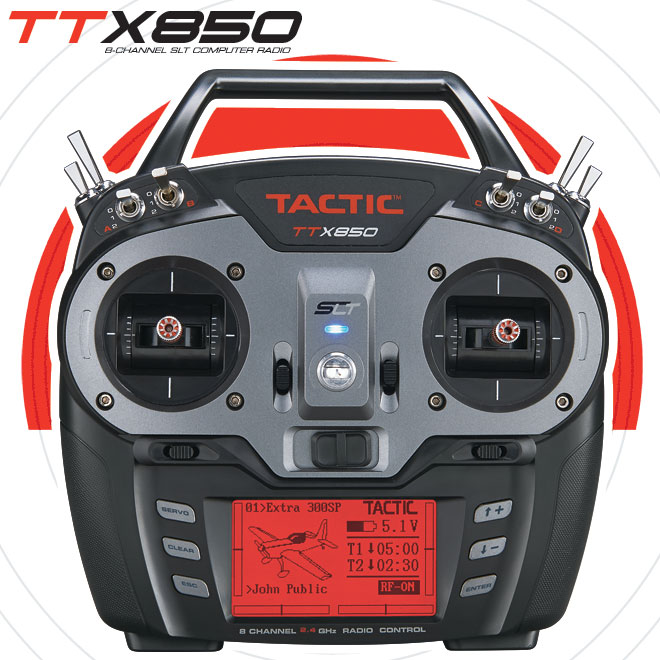Tactic Announces the TTX850 Radio
