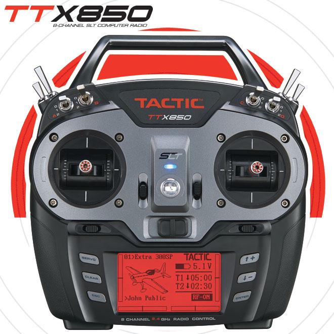 Tactic Announces the TTX850 Radio