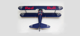 Flitework Red Bull PT-17 Stearman Bipe Receiver Ready