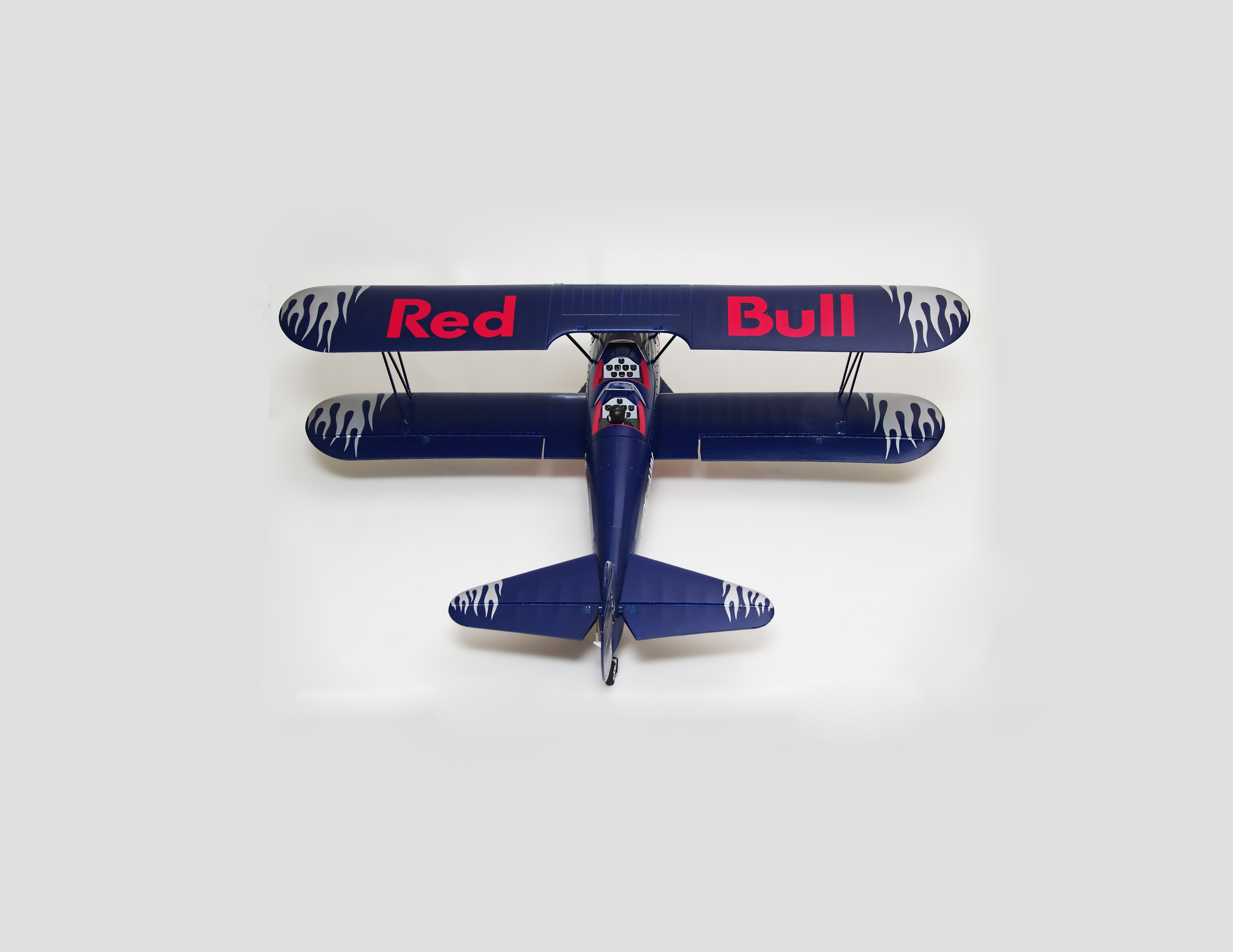 Flitework Red Bull PT-17 Stearman Bipe Receiver Ready