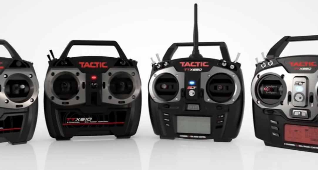 Video: Overview of the Variety of Tactic 2.4GHz Radios