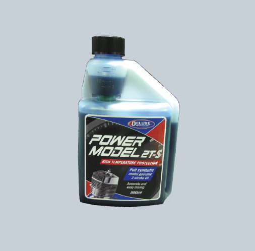 Deluxe Materials Announces New PowerModel 2T-S Synthetic Two Stroke Oil