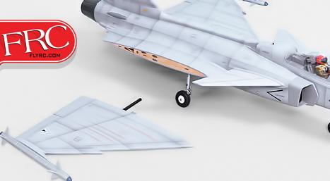 Phoenix Model® 17 Gripen EDF Jet ARF Wing