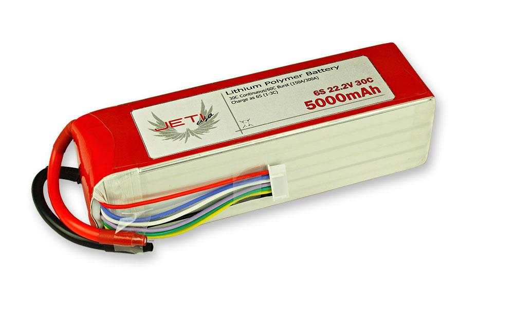 Jeti Pro Power Lithium Polymer Batteries From Esprit Model