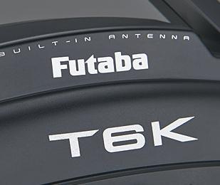 Futaba 6K Six Channel Telemetry Capable 2.4GHz S-FHSS/T-FHSS Air Radio System