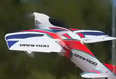 Durafly Bravado Precision 3D Aerobatic Sports Plane 1000mm (PNF)