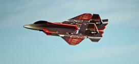 Twisted Hobbies RCF 29″ EPP F-22 Raptor Jet