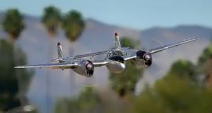 FlightLineRC P-38L Lightning Pacific Silver 1600mm