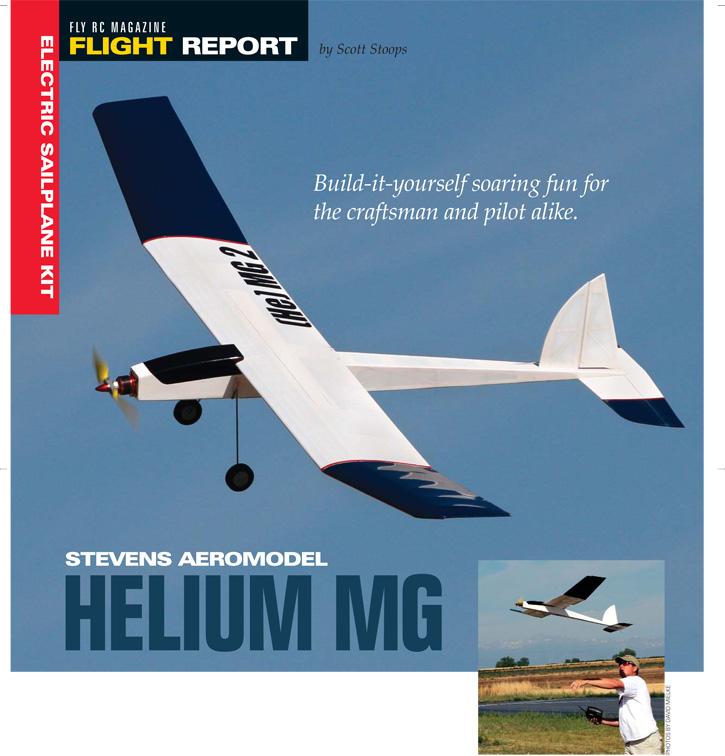Stevens Aeromodel Helium MG - Fly RC Magazine