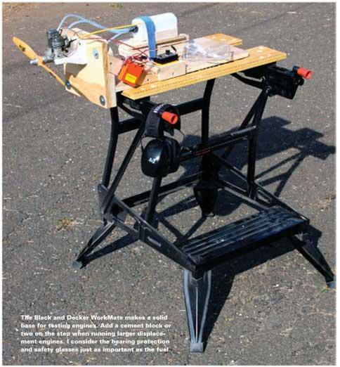 Stand Designs Quiz : Build an engine test stand