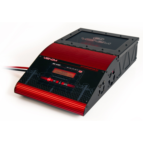 venom stronghold 25 amp dc battery charger. Black Bedroom Furniture Sets. Home Design Ideas