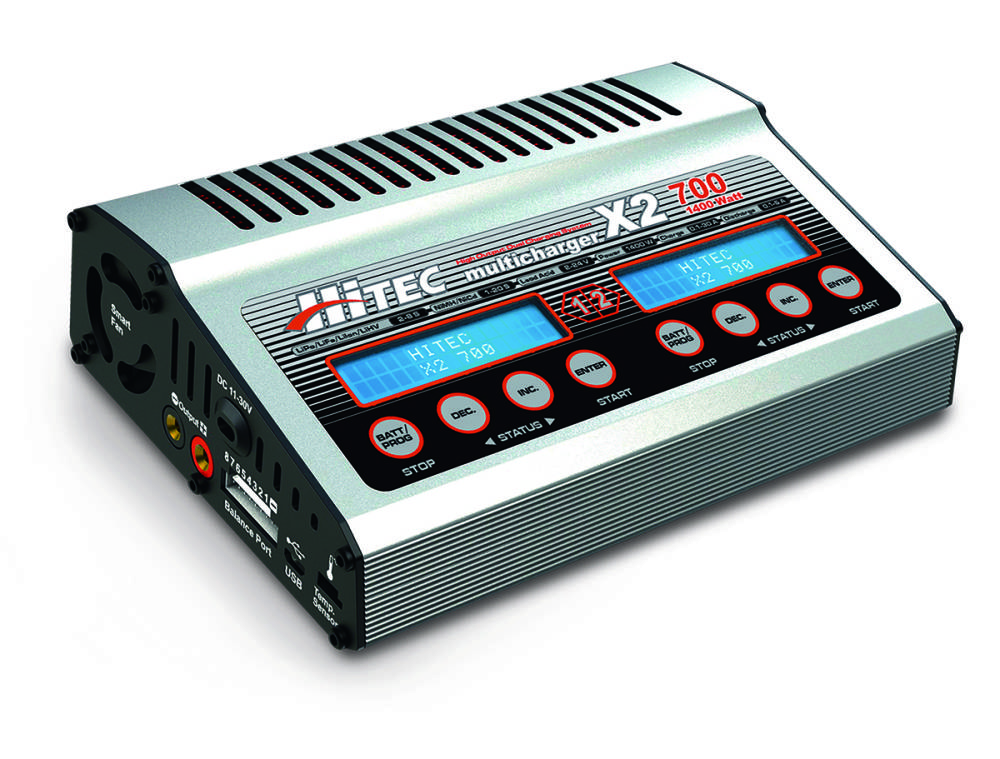 hitec rdx1 ac dc battery charger discharger fly rc magazine. Black Bedroom Furniture Sets. Home Design Ideas